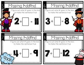 Magical Missing Addends