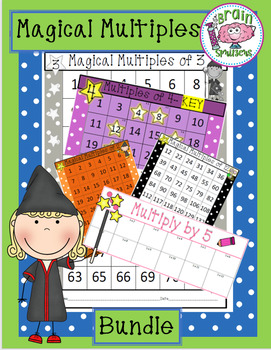 Magical Multiples BUNDLE ~ Multiplying by 2's - 12's