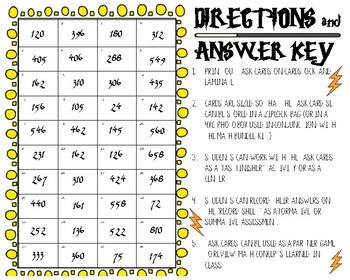 Magical Multiplication (2-digit by 1-digit numbers) Task Cards #5