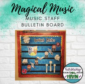 Magical Music Classroom Theme - Bulletin Board