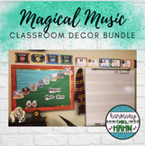 Magical Music Classroom Theme Bundle