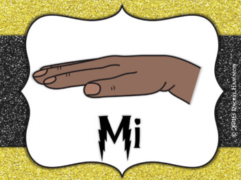 Magical Music Classroom Theme - Hand Signs