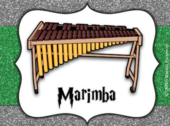 Magical Music Classroom Theme - Instrument Families and House Signs