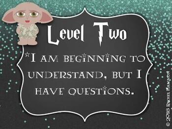 Magical Music Classroom Theme - Levels of Assessment