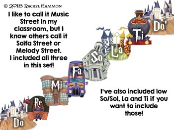 Magical Music Classroom Theme - Magical Music Street