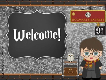 Magical Music Classroom Theme - Welcome Signs and Exit Tickets