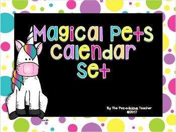 Magical Pets Calendar Set (Unicorns)