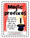 Magical Prefix Activities