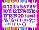 Magical Purple Theme: 100 Alphabet, Numbers and Symbols clip arts