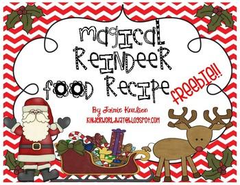 Magical Reindeer Food FREEBIE!!!