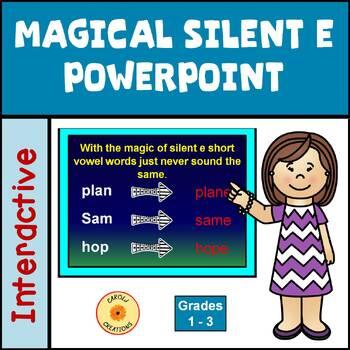 Magical Silent E Powerpoint