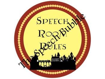 Magical Speech Room { Speech Room Theme Pack }