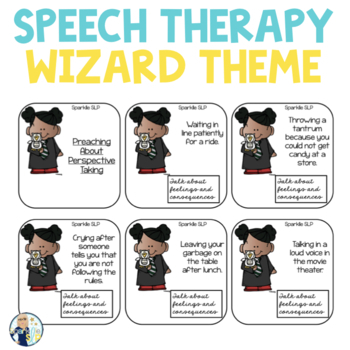Speech and Language Themed Therapy Unit for Mixed Groups:  MAGICAL