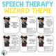 Speech and Language Themed Therapy Unit for Mixed Groups:  MAGICAL WIZARD