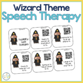 MAGICAL WIZARD Speech Therapy Themed Packet for Mixed Groups