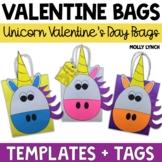 Magical Unicorn Valentine's Day Treat Bags