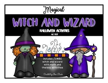 Magical Witch and Wizard Halloween Activities (NO PREP)