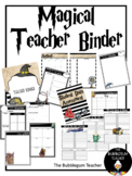 Magical Witch and Wizard Teacher Binder and Planner