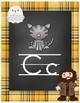 Wizard Classroom Theme - Alphabet Posters (Plaid)
