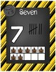 Magical Wizard Classroom Theme - Number Posters (Striped)