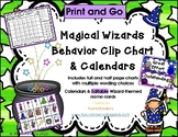 Magical Wizards Behavior Clip Chart