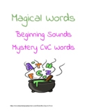 Magical Words-- CVC mystery words