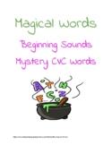 Magical Words-- CVC mystery words