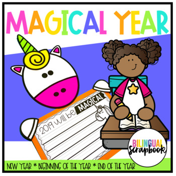 Magical Year - Unicorn Craft in English & Spanish