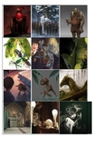 Magical creatures from Harry Potter.