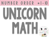 Magical math! Number Ordering 1-10