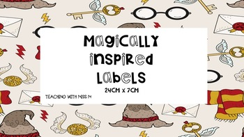 Magically Inspired Labels