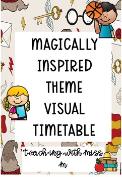 Magically Inspired Visual Timetable