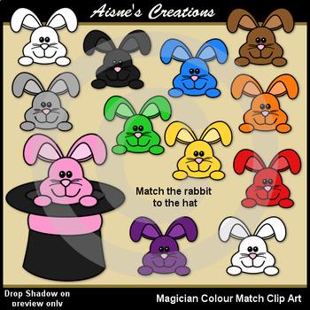 Magician Colors Clip Art