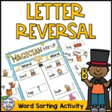 Magician Mix Up - Letter Reversal and Word Sorting Activity {B D P Q G}