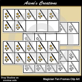 Magician Ten Frames