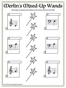 Magician-Themed Music Worksheet Pack - Just Print and Go!