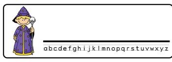 Magicians Theme Desk Nameplates (Set of Four)