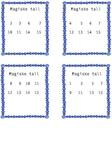 Magiske tallkort (enkel)