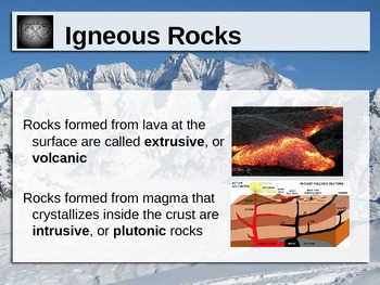 Magma and Igneous Rocks Power Point