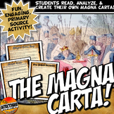 Magna Carta Common Core Reading and Fun Activity