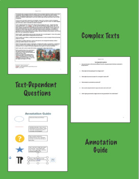 Magna Carta Excerpts, Text-Dependent Questions, Annotations, Government, History