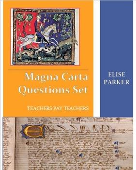 Magna Carta Questions Set -- 20 Questions (Word + Examview)