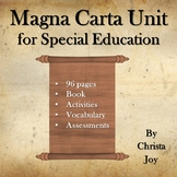 Magna Carta Unit for Special Education