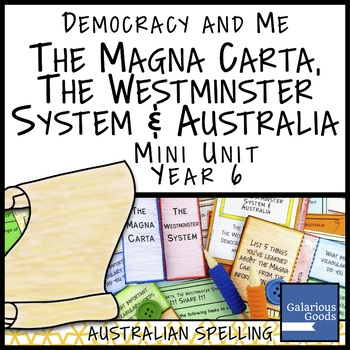 Magna Carta, Westminster System and Australia (Year 6 HASS)