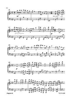 Magnaccia - Piano Score