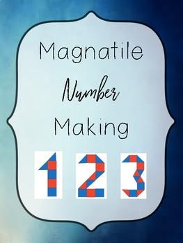 Magnatile Number Making