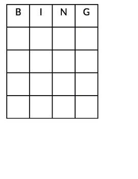 Magnet Bingo!