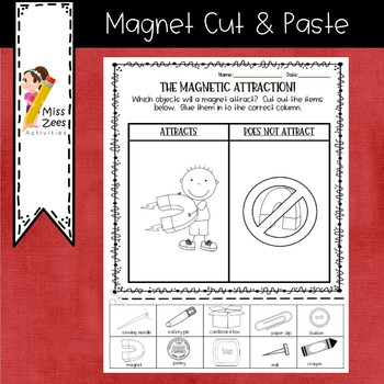 Magnet Cut & Paste - Does it Attract?