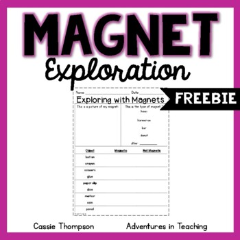 Magnet Exploration FREEBIE