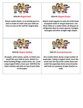 Magnet Idea Cards